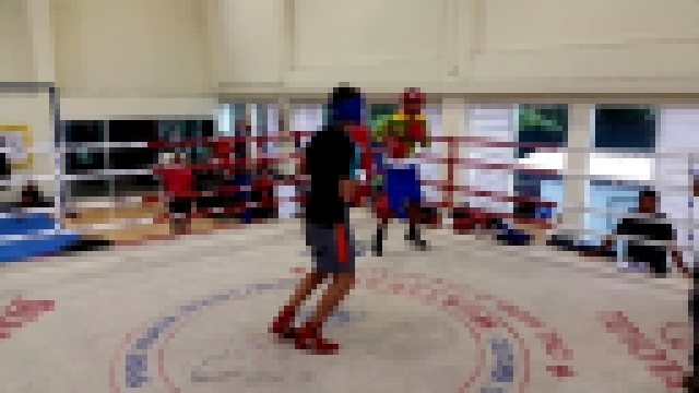 Coach Barry Robinson Directing Nick Frese Sparring with the Boxing National Team in Thailand Part 3 - видеоклип на песню