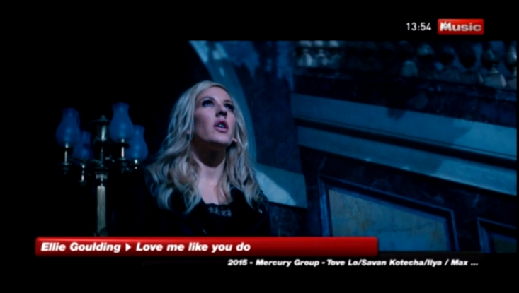 Ellie Goulding - Love Me Like You Do @ 2015 M6 MUSIC HD - видеоклип на песню