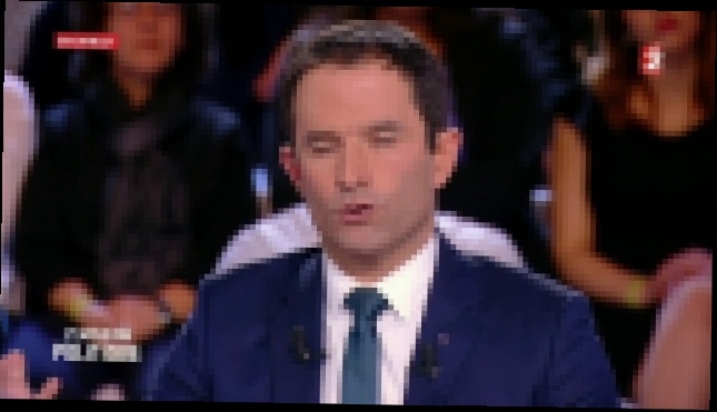 L'emission politique - Benoit Hamon 3-3 France 2 - 09.03.2017 - видеоклип на песню