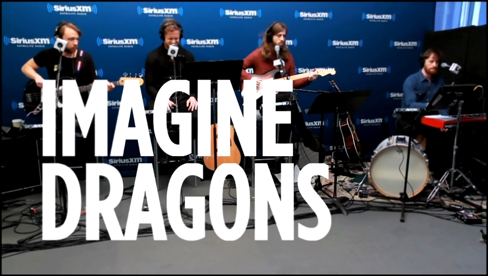Imagine Dragons Stand By Me Ben E. King Cover __ SiriusXM 2015 HD - видеоклип на песню