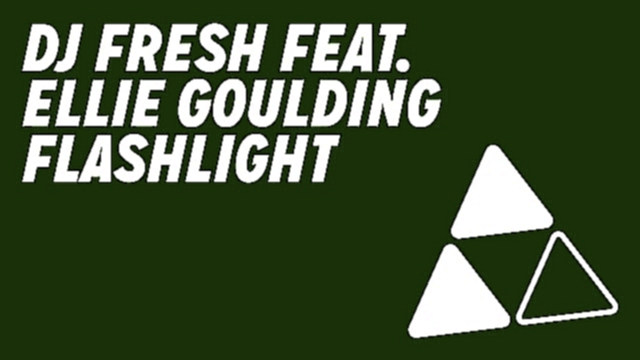 DJ Fresh feat. Ellie Goulding - 'Flashlight' (Official Audio) (Out Now) - видеоклип на песню