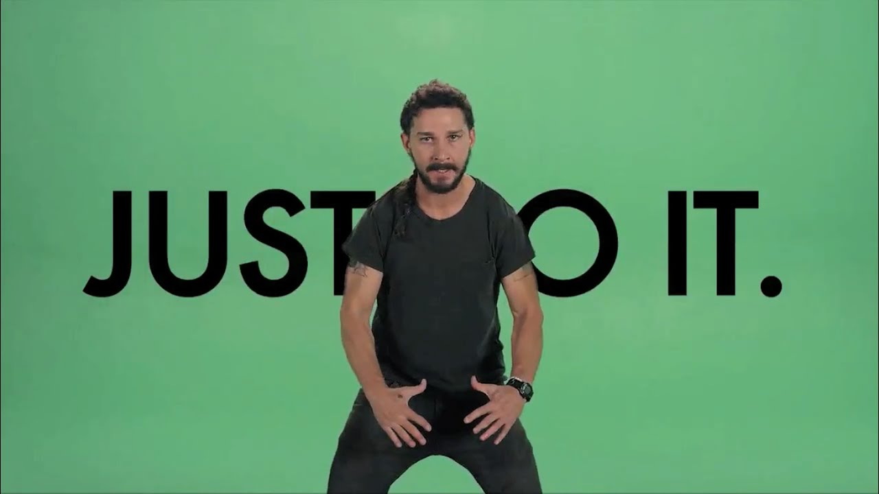 Shia LaBeouf Just do it (remix )